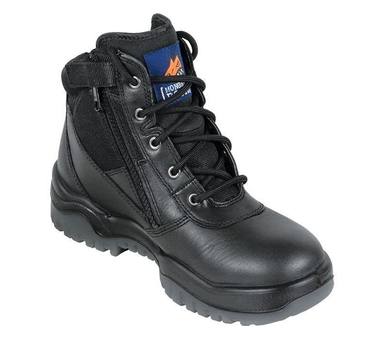 Image of Mongrel 261-020 Lace Up/Zip Side