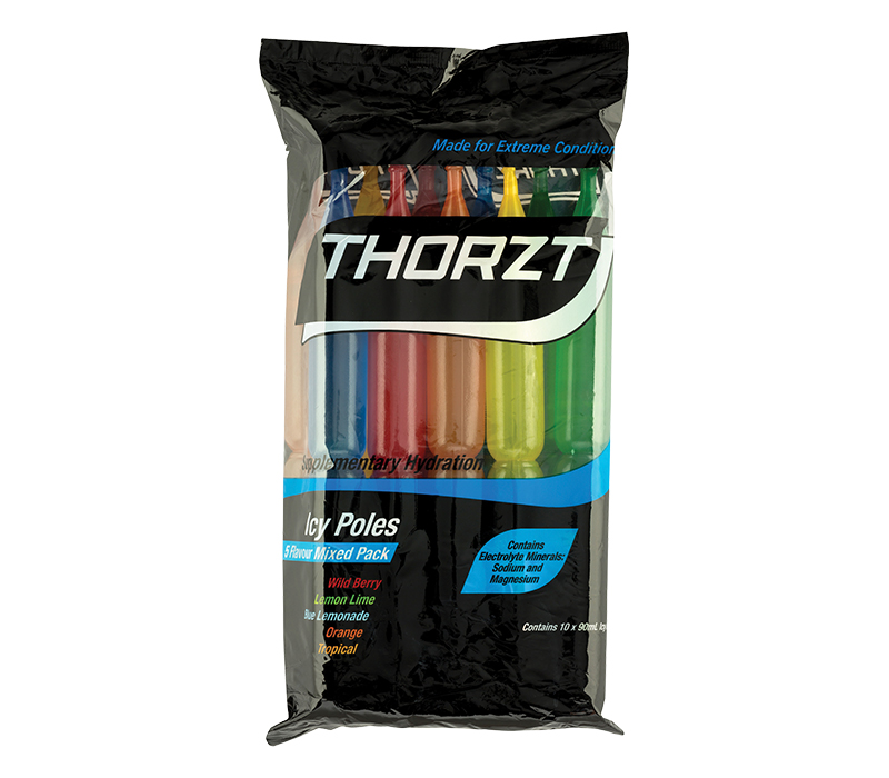 Image of THORZT Icy Pole, Mixed Flavours, Pack/10