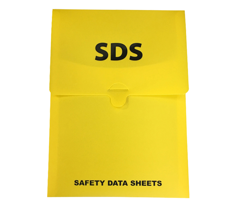 Image of Soft Pouch Wall Holder for SDS, Yellow