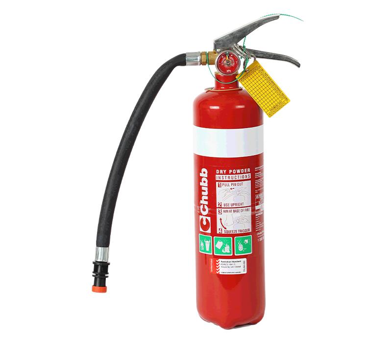 Image of Fire Extinguisher 2.3kg ABE Type (incl. Mounting Bracket)