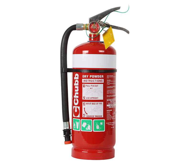 Image of Fire Extinguisher 4.5kg ABE Type (incl. Wall Bracket)