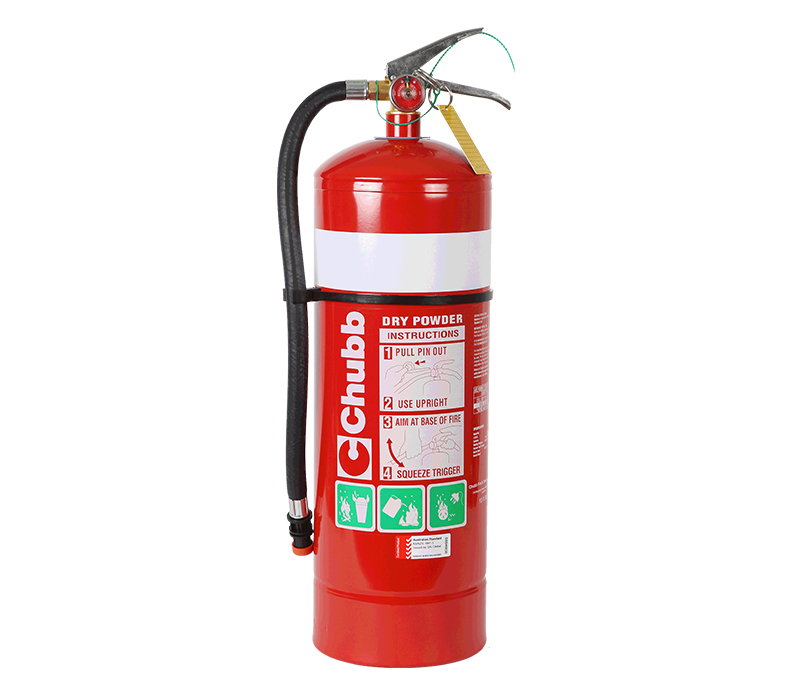 Image of Fire Extinguisher 9.0kg ABE Type (incl. Wall Bracket)