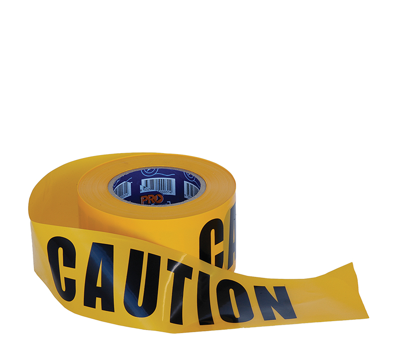 Image of ProChoice CAUTION Warning Tape 100m Roll