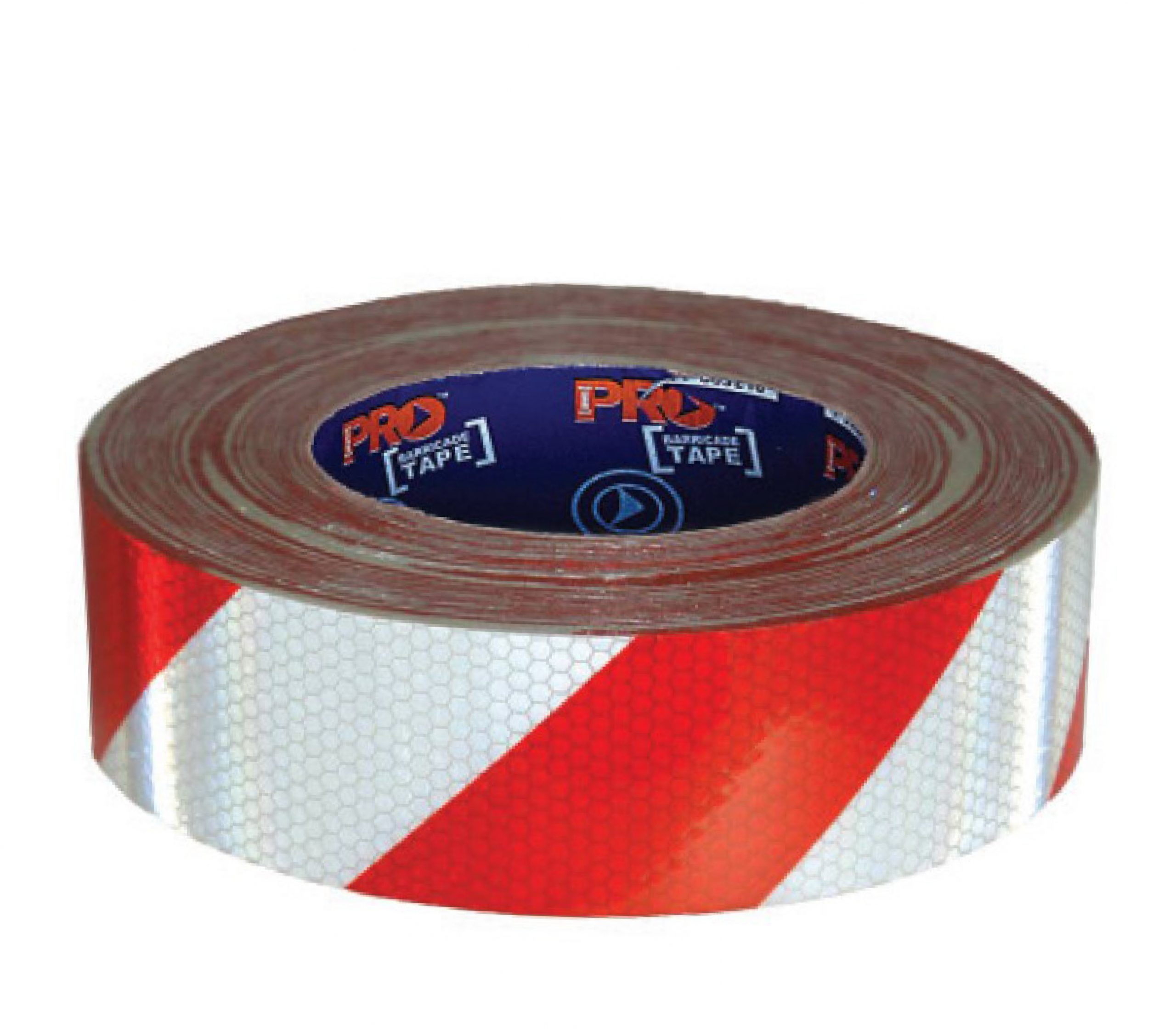 Image of ProChoice Reflective Self Adhesive Tape 50m, Red/White