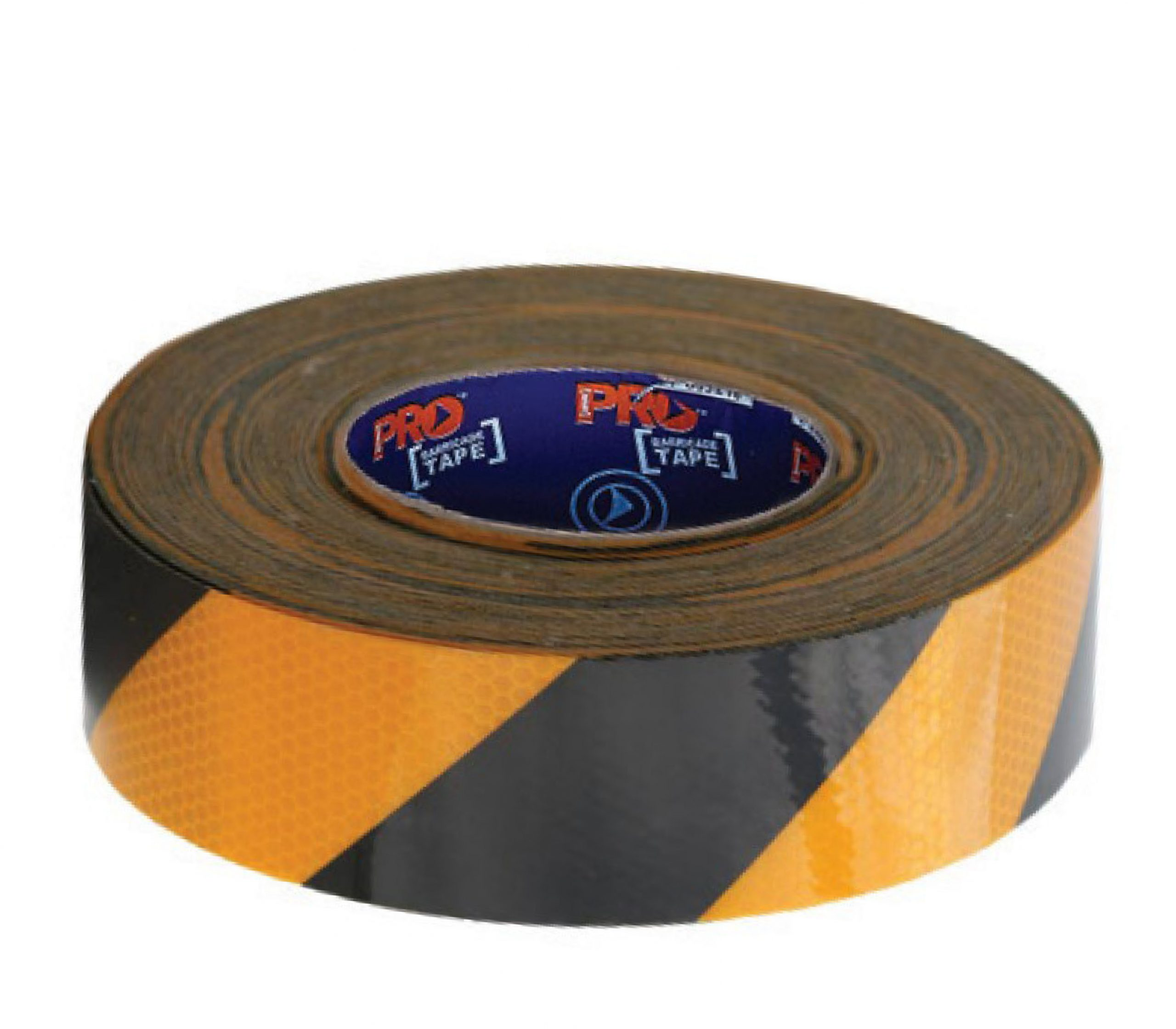 Image of ProChoice Reflective Self Adhesive Tape 50m, Yellow/Black