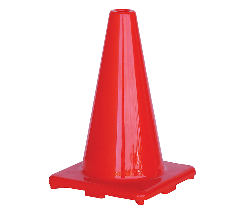Image of Road Cone 450mm Plain